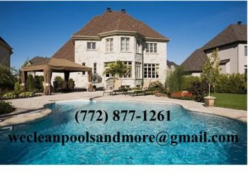 Call now at 772-877-1261 – We Clean Pools & More
